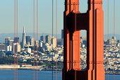 San Francisco Through Golden Gate Bridge
