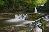 Waterfalls in Brecon Beacons, Wales
