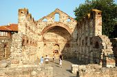 Ruins Of St. Sophia Church (Old Metropolia),Nesebar,Bulgaria