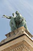 Heroe's square Budapest,Hungary