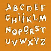 Alfabeto blanco