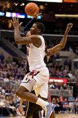 LOS ANGELES - MARCH 12: Arizona Wildcats F Solomon Hill #44 in action during the NCAA Pac-10 Tournam
