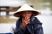 Elderly Vietnamese man in Hoi An, Vietnam