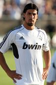 LOS ANGELES - JULY 16: Real Madrid C.F. M Sami Khedira #24 during the World Football Challenge game
