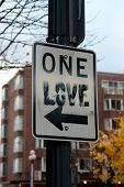 One Love Sign