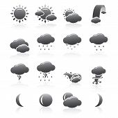 Weather Icons Silhouette Series