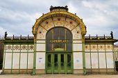 Karlsplatz Subway Station (otto Wagner Pavilion), Vienna, Austria