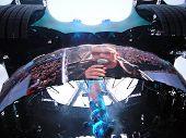 U2 live in Berlin in 2009