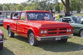 1972 Red Gmc Truck