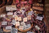 Alimentos de Umbría, Italia