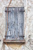 Old wooden shutter, Italian Architecture - Emilia Romagna