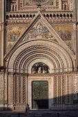 Romanesque-Gothic Orvieto Duomo, facade, Umbria