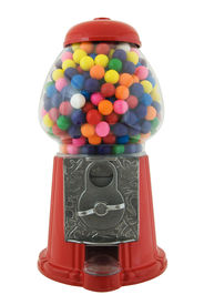 stock photo of gumball machine  - Gumball machine isolated on a white background - JPG