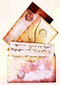 Victorian Envelopes Grunge Style