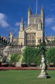 Historic Bath Abbey poster