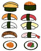 Sushi Icon Cellection Set