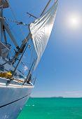 Sailing in Phuket island Thailand