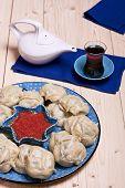 Kazakh Or Uzbek Dish - Manti