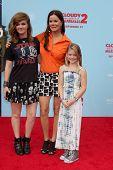 LOS ANGELES - SEP 21:  Eulala Scheel, Marcia Gay Harden, Julitta Dee Scheel at the