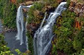 Lisbon waterfall.