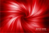 abstract vector red