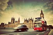picture of cabs  - London - JPG