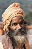 Indian Sadhu (holy Man).  India.