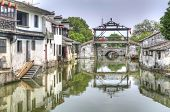 stock photo of tong  - Tongli alternately Tong - JPG