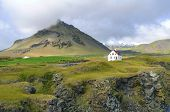 Stapafell Mountain In Snaefellsnes Peninsula, Iceland