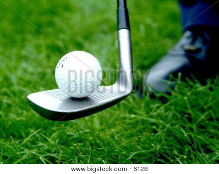Golf Ball Balance poster