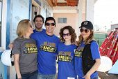 LOS ANGELES - MAR 8: Kelly Sullivan, Dominic Zamprogna, Rick Hearst, Rebecca Herbst, Lisa LoCicero a