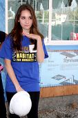 LOS ANGELES - MAR 8:  Haley Pullos at the 5th Annual General Hospital Habitat for Humanity Fan Build Day at Private Location on March 8, 2014 in Lynwood, CA