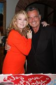 LOS ANGELES - MAR 4:  Melody Thomas Scott, Ray Wise at the Melody Thomas Scott Celebrates 35 Years a