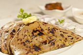 Paratha with ghee from India