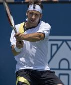 Nicolas Kiefer at the Los Angeles Tennis Open