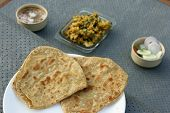 picture of ghee  - A paratha  - JPG