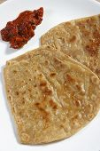 stock photo of ghee  - A paratha  - JPG