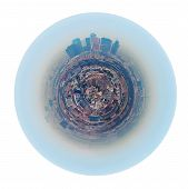 stock photo of smog  - little planet  - JPG