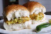 Vada Pav - A maharashtrian snack