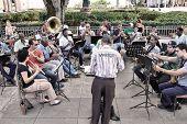 Orchestra In Cuba