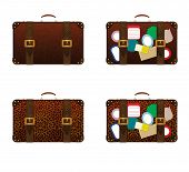 Vintage Travel Suitcases poster