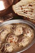 Makhmali Kofta curry from India
