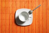 coffecup with spoon
