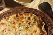 Thick flatbread/Chapati from India