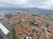 Aerial view on Koper in Slovenia.