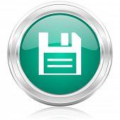 disk internet icon