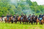Union Cavalry Parade