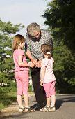 garandmother and grandchildrens
