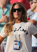 Andy Murray's girlfriend Kim Sears at US Open 2014