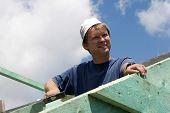 carpeter - smile of worker